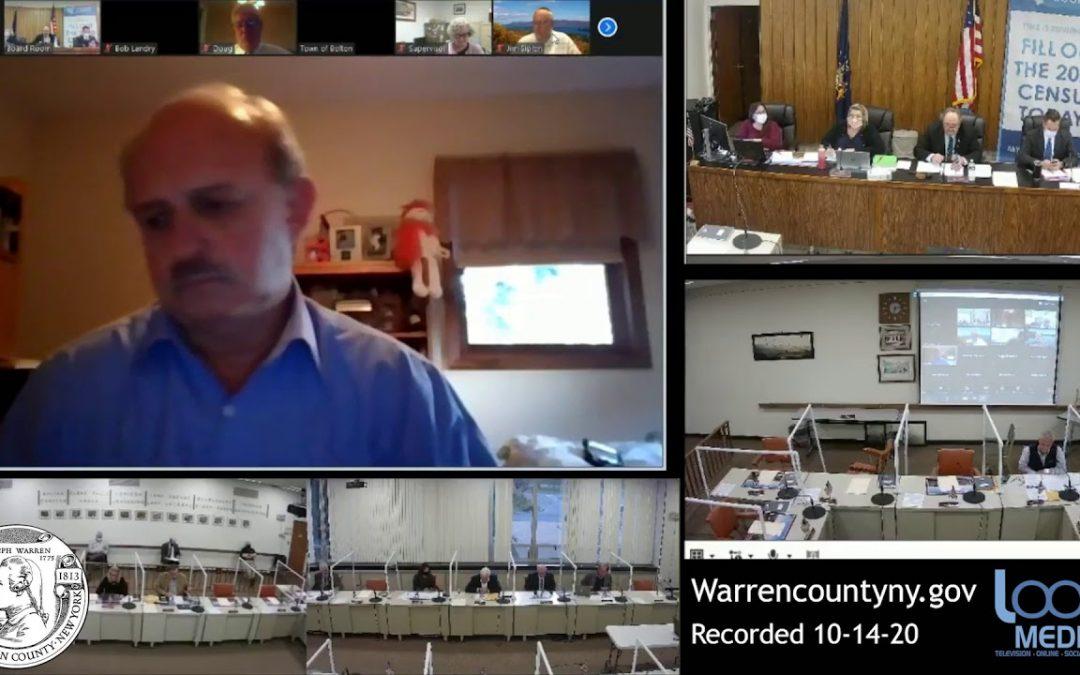 Warren County Board of Supervisors Meeting 10-14-2020