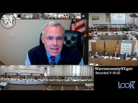 Warren County Board of Supervisors Meeting 9-18-20