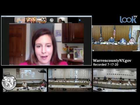 Warren County Board of Supervisors Meeting 7-17-20