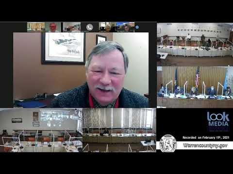 Warren County Board of Supervisors Meeting 2-19-21