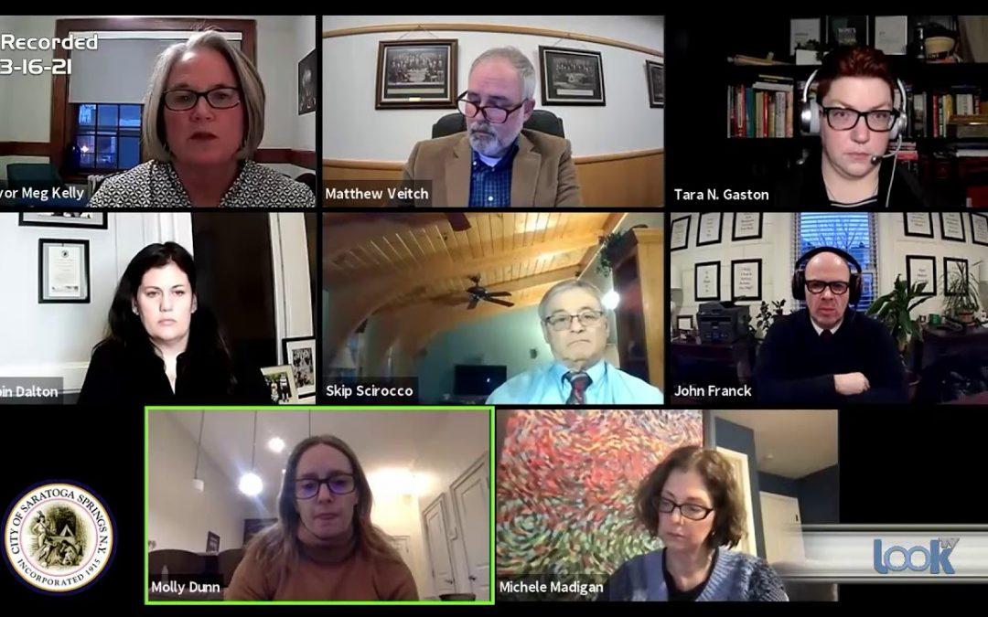 Saratoga Council Meeting 3-16-21