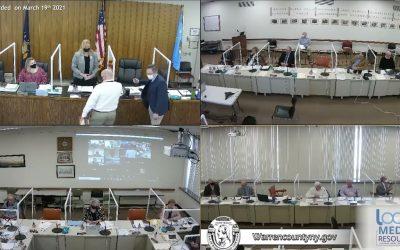 Warren County Board of Supervisors Meeting 3-19-21