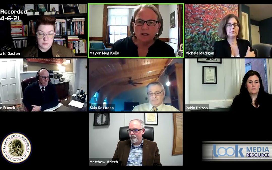 Saratoga Council Meeting 4-6-21