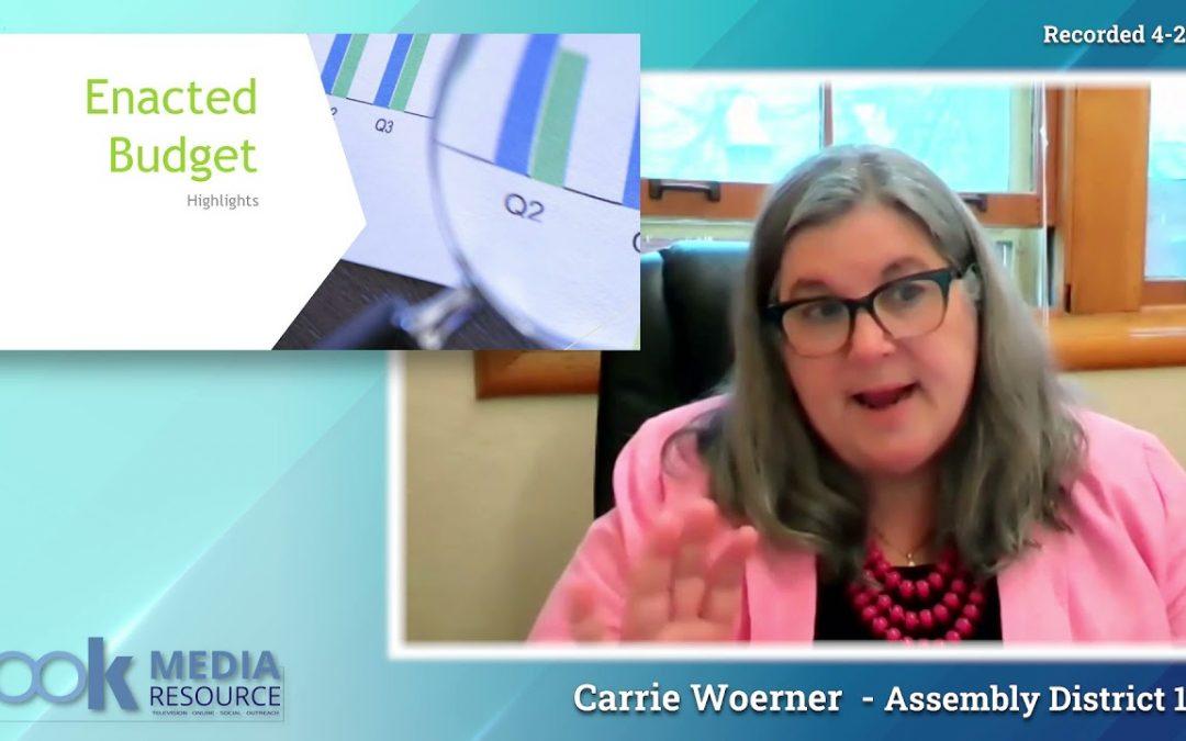Carrie Woerner Virtual Town Hall 4/27-2/29, 2021