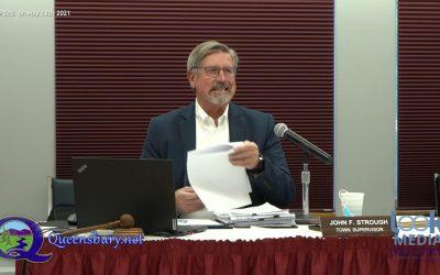 Queensbury Town Board Meeting 5-17-21