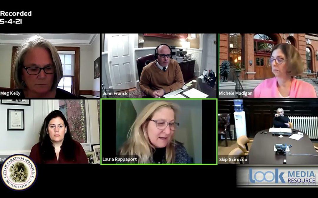 Saratoga Council Meeting 5-4-21