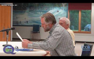 Queensbury Town Board Meeting 7-26-21