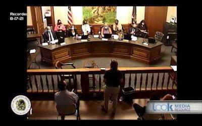 Saratoga Council Meeting 8-17-21