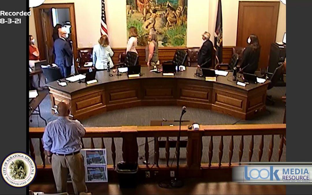 Saratoga Council Meeting 8-3-21