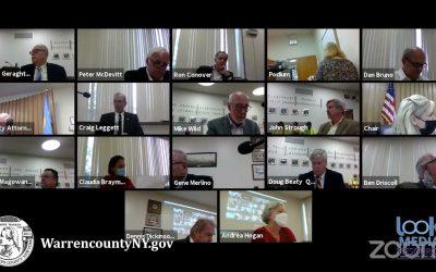 Warren County Board of Supervisors Meeting 10-15-21